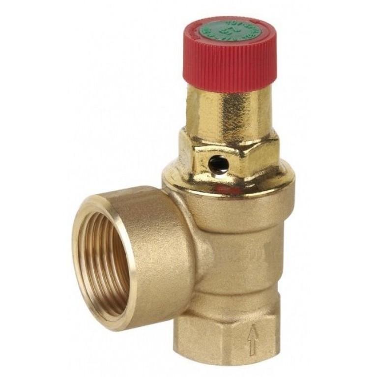 Предохранительный клапан, DN25. PN16. Tmax 120°С., давление открытия 3.0 бар.