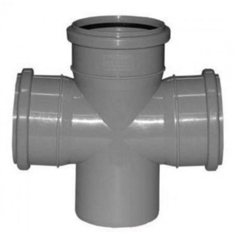 Купить Крестовина канализационная Valsir 87° 100/100/100 у официального дилера Valsir в Украине