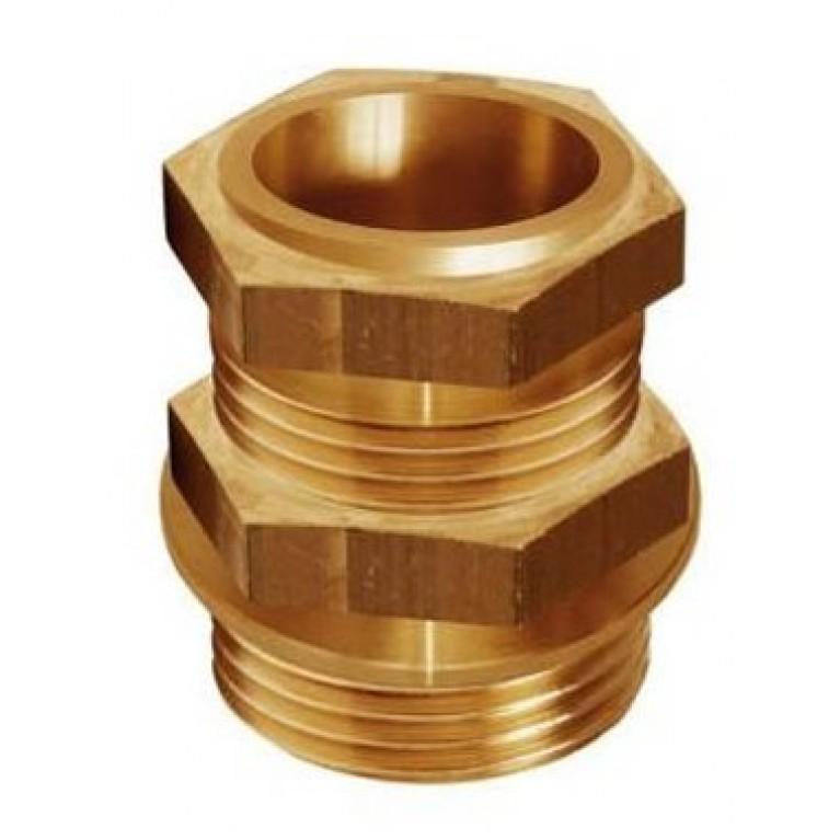 Цанговое соединение переходник с нас. группы на мед. трубу 1 1/4'' х 35 мм