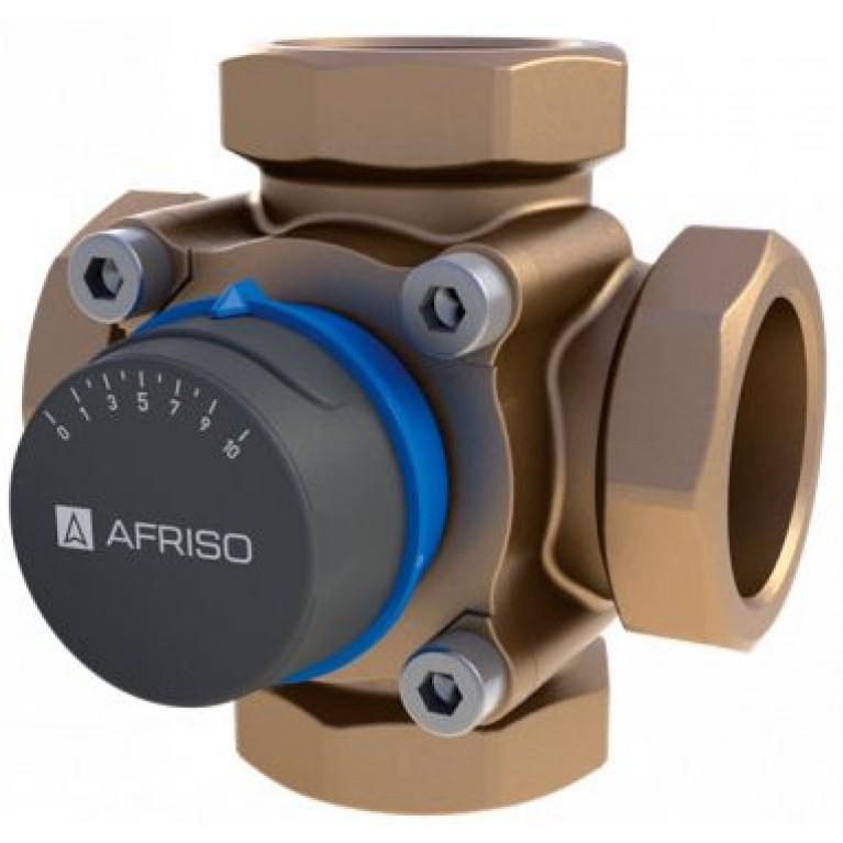 Поворотный смесительный 4-ходовой клапан ARV Afriso Rp 1 DN25 kvs 8
