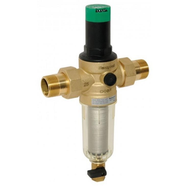 """Фильтр для холодной воды с регулятором давления - 3/4"""" Тmax 40 °С"""