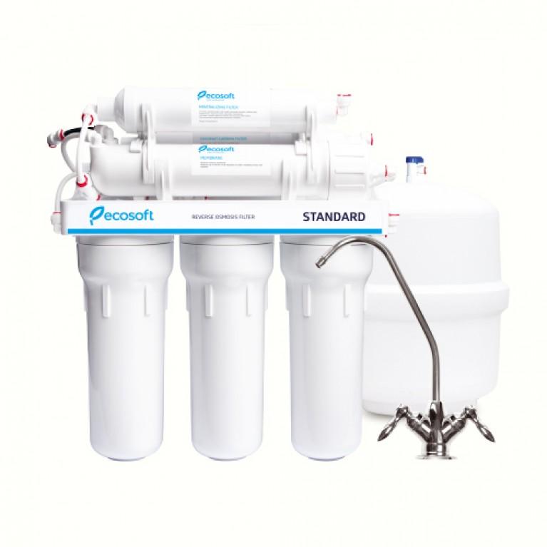 Фильтр обратного осмоса Ecosoft Standard 6-50 М c минерализатором