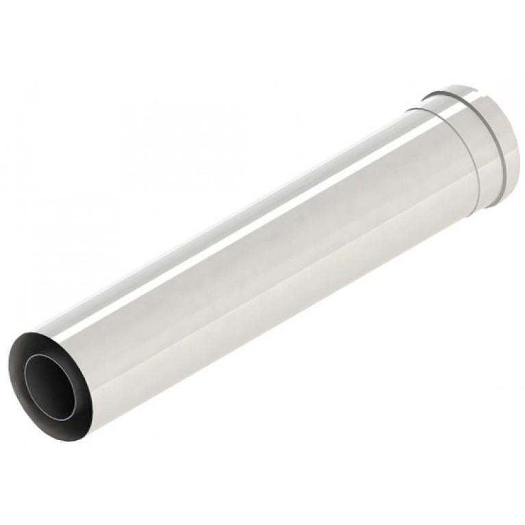 Труба дымовая L = 500мм, DN110, пластик-РР GB162