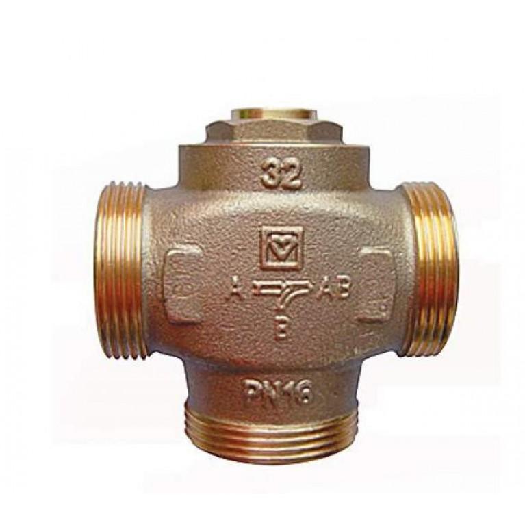 Трехходовой смесительный клапан Herz TEPLOMIX 1 1/4″ 61°С (с байпасом)