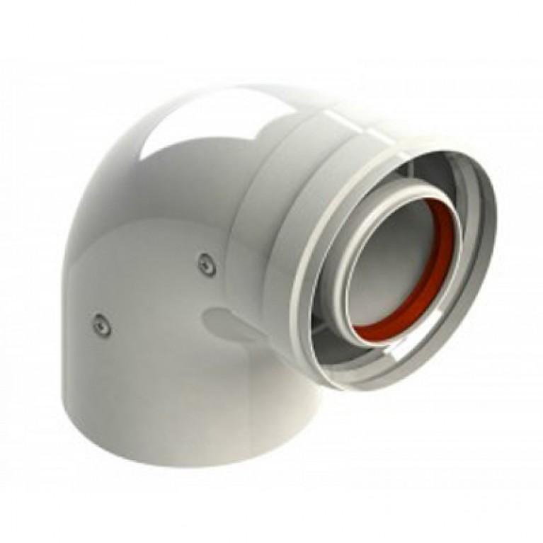 Коаксиальный отвод Bosch AZ 393 90°, (Ø60/100 мм)