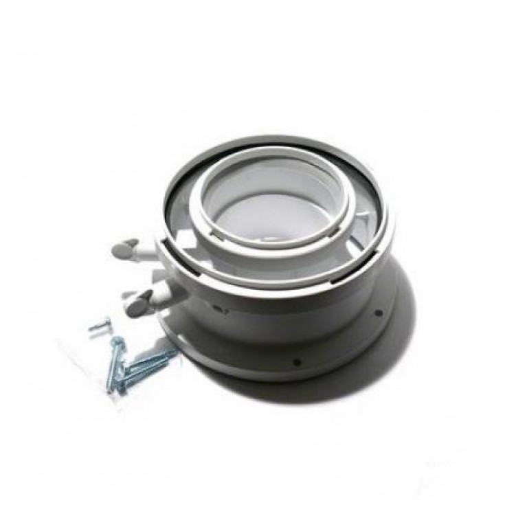 Адаптер для подключения дымохода Bosch AZB 1093 (Ø60/100) для котлов Ø80/125