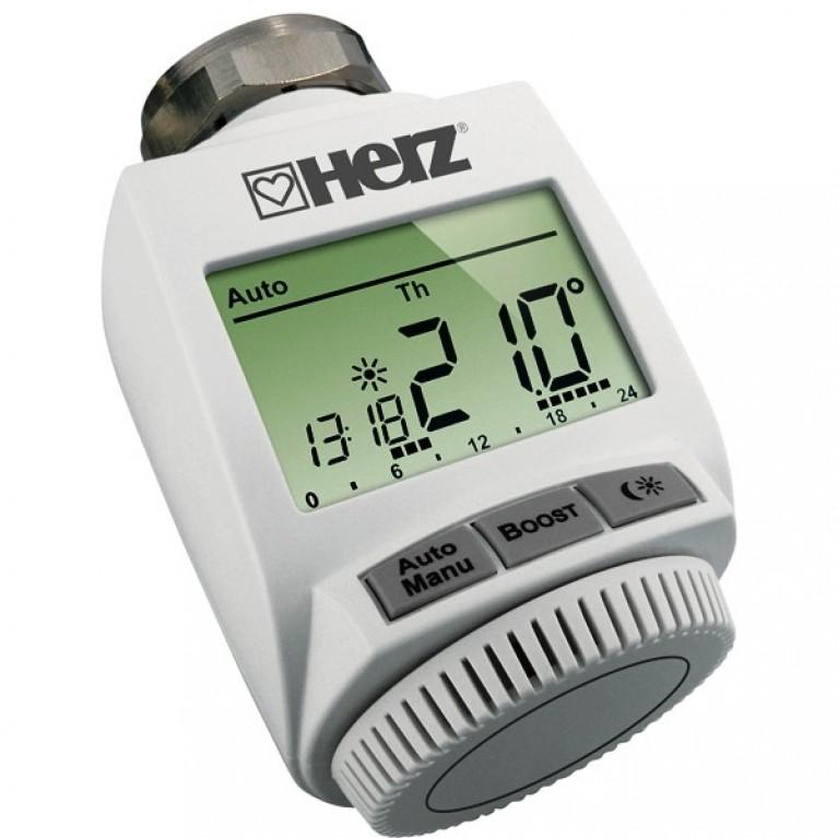 Термостатическая головка Herz ETKF+ М 28 х 1,5