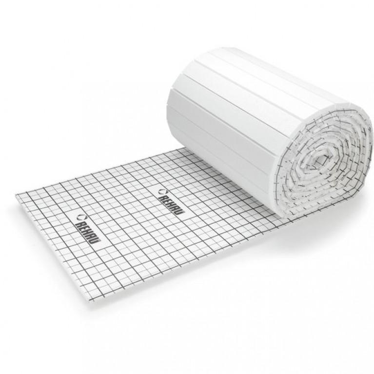 Мат изоляционный Rehau для монтажа гарпун-скобами 52/50 мм, 2х1 м