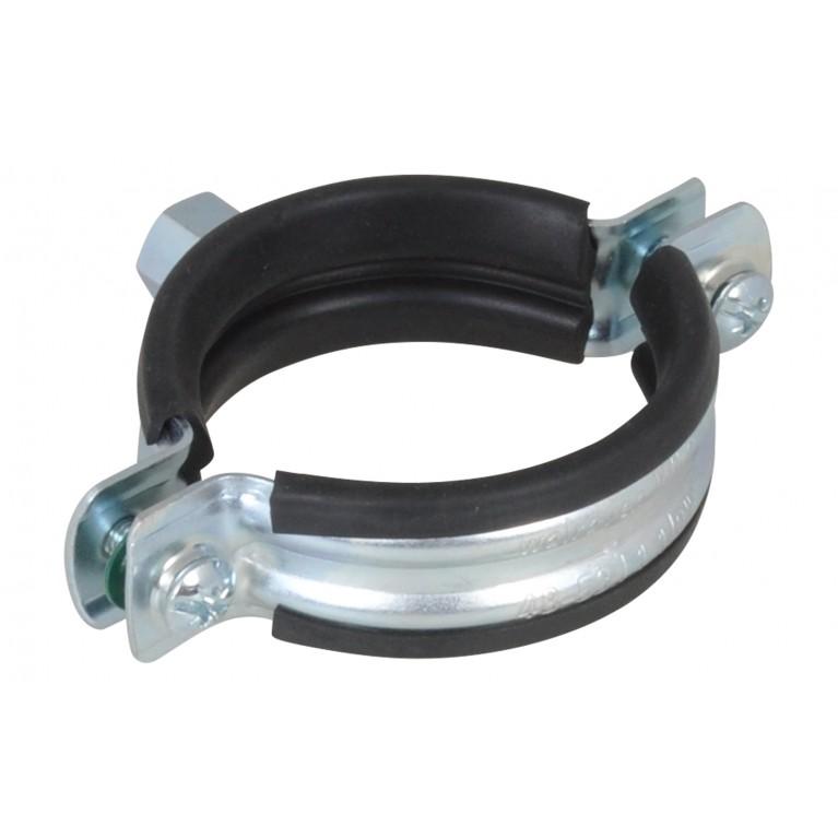"""Walrawen LC Хомут с резиновой изоляцией  53-59 мм 1 1/2"""""""