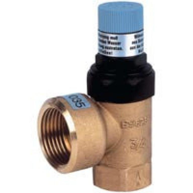 Клапан предохранительный DN20 PN16 Tmax 120 С  10.0 бар  до 100 кВт SM152-3/4AC