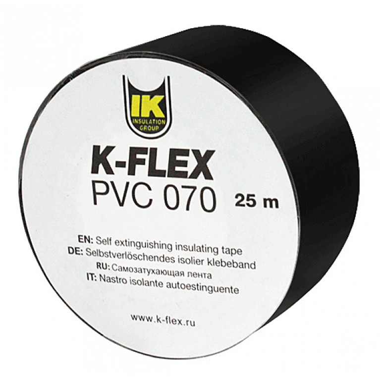 Лента К-FLEX PVC 25 x 25 АТ 070 black