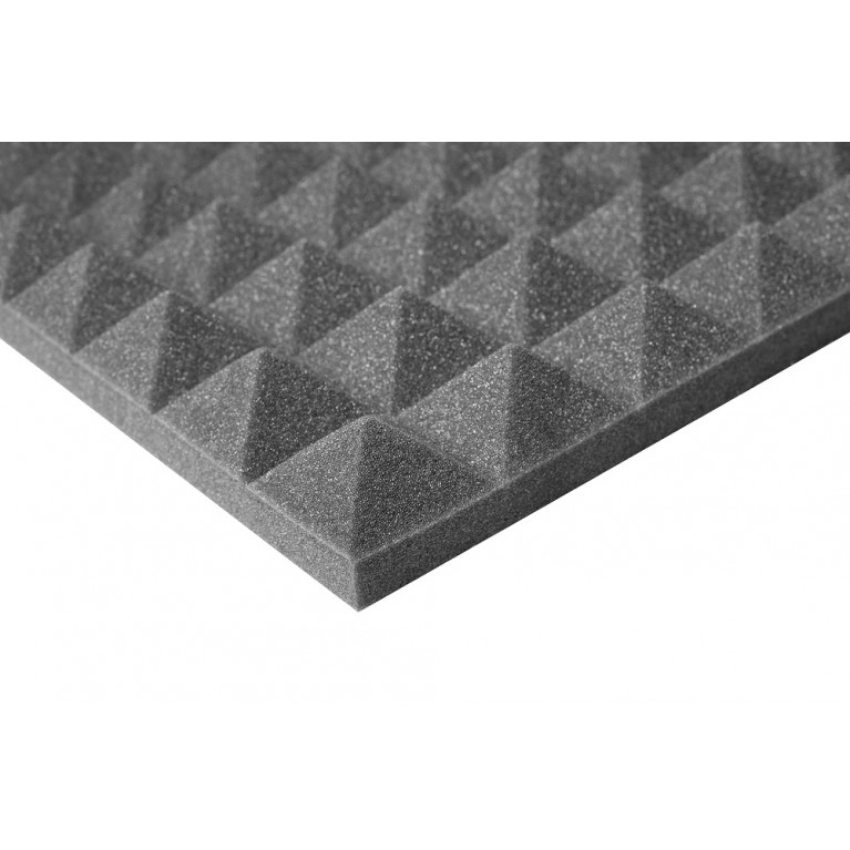Изоляция пластина К-FONIK Р (PU Пирамидальный), PU 20 мм + PU 50 мм,1000 мм x 1000 мм