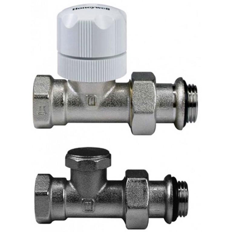 Комплект термостатический Honeywell VL134DA15, ручной прямой 1/2