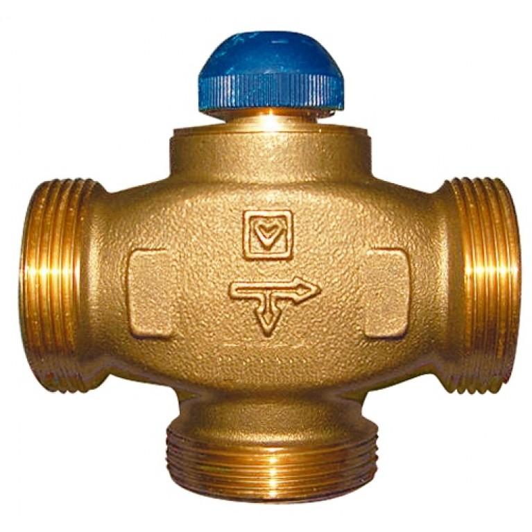 Трехходовой термостатический клапан, CALIS-TS-RD, kvs 3, DN 20