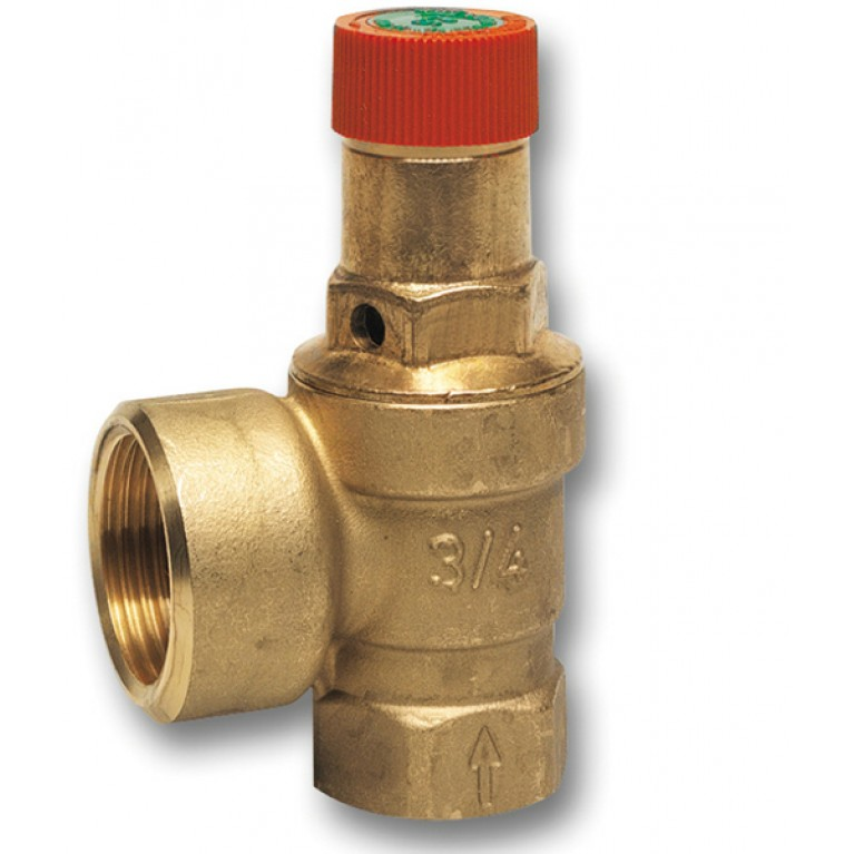Клапан предохранительный DN25 PN16 Tmax 120 С  2.5 бар  до 200 кВт SM120-1A