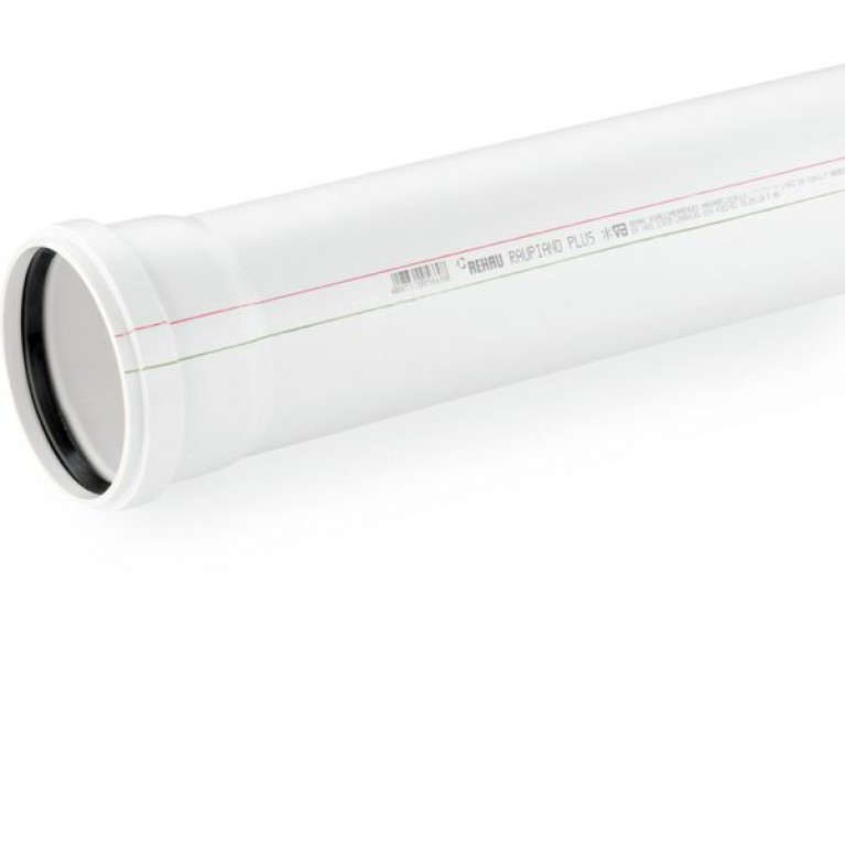 Труба канализационная Rehau Raupiano Plus 75/2000 мм