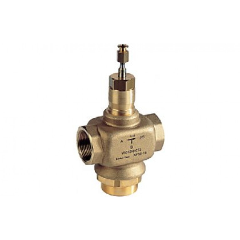 3-х ходовой смесительный клапан PN16, DN20, Kvs 6.3 м3/ч, 2…170°C