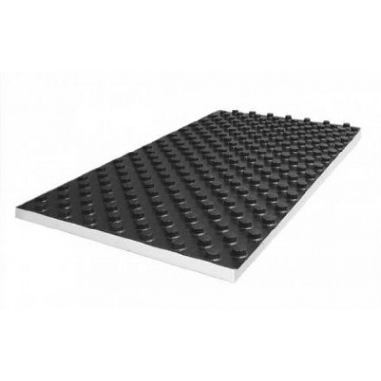 Плита пенополистирольная с жесткой пленкой PS, толщина 11 мм (лист 1,12 м.кв.)