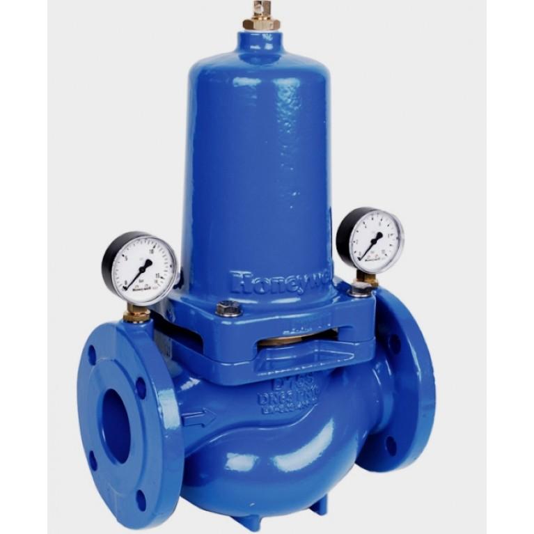 Регулятор давления фланцевый DN50 PN16 Tmax 65°С. настройка 1.5-7.5 бар