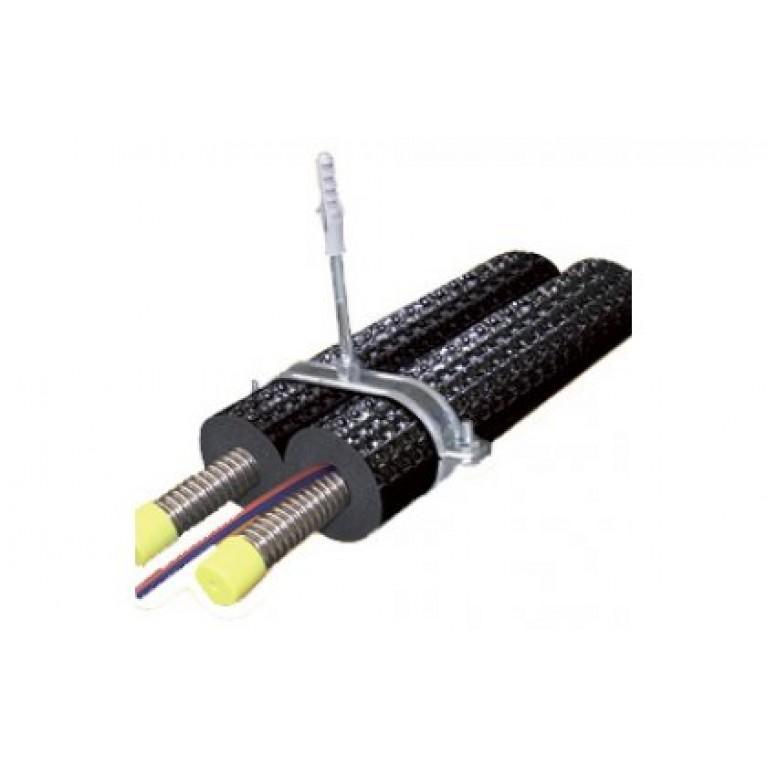 Овальный подвес для труб DN 16 96 X 48 толщина изоляции 14 мм