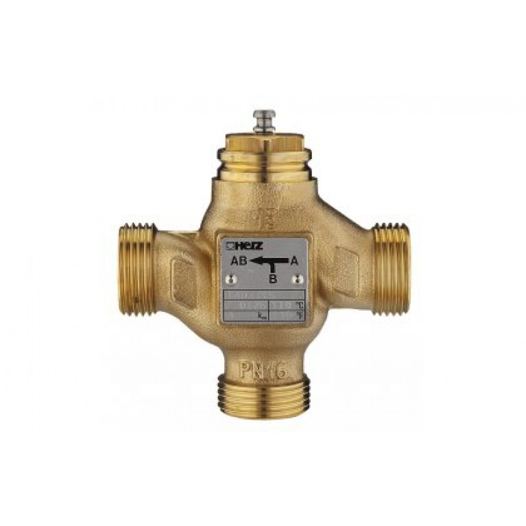 Трехходовой смесительно-разделительный клапан, kvs 4, DN 15