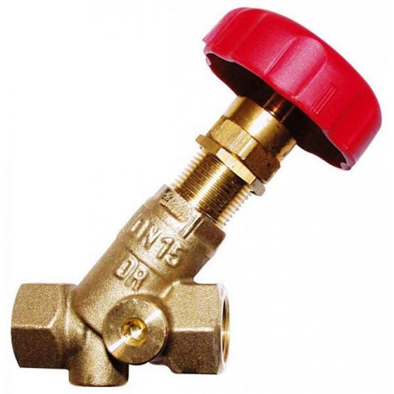 Балансировочный вентиль HERZ STROMAX-R, для регулирования расхода DN 40, резьбовой