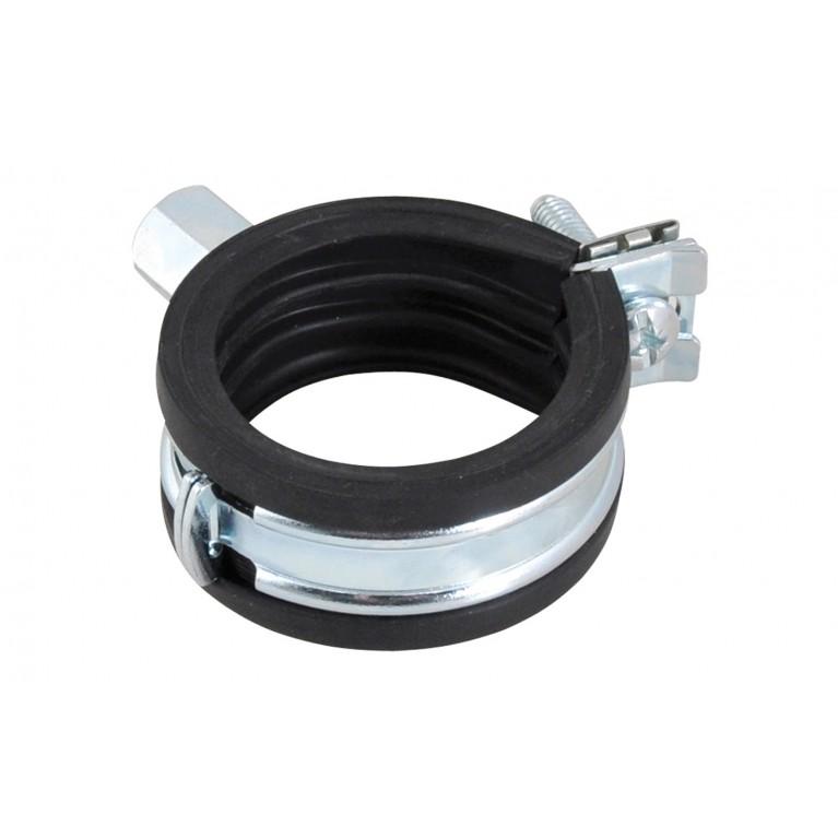 BISMAT Flash Хомут с резин.изоляц M8    20-23 мм
