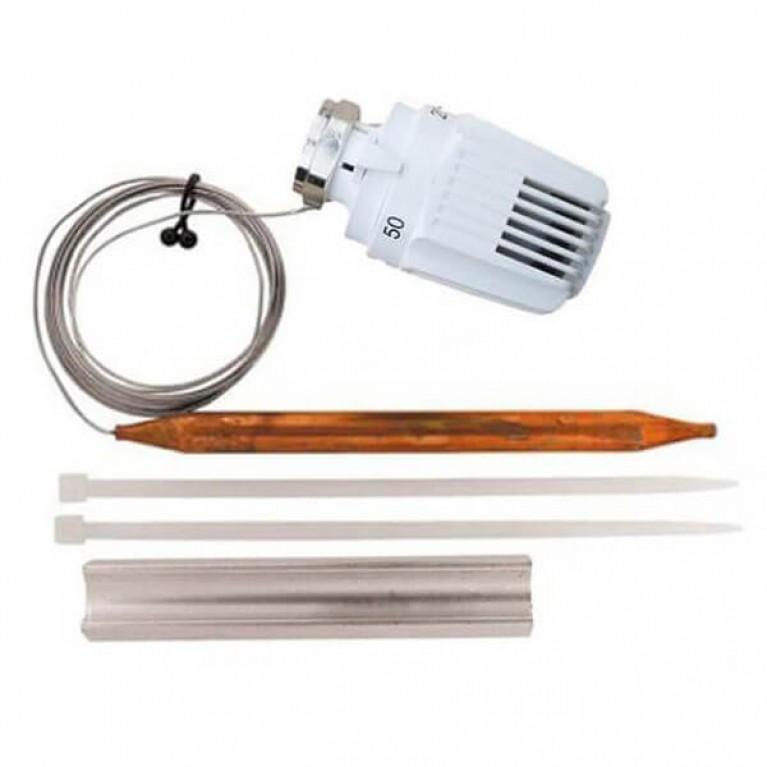 Термостатическая головка с накладным датчиком HERZ-KLASSIK Стандарт 20-50°С