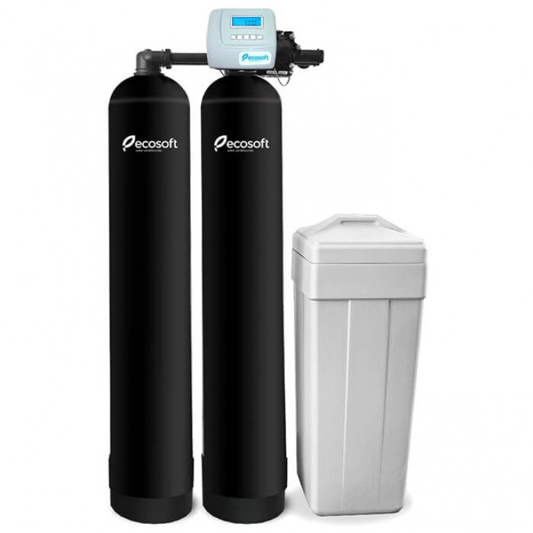 Купить Фильтр обезжелезивания и умягчения воды Ecosoft FK-2162TWIN у официального дилера ECOSOFT в Украине