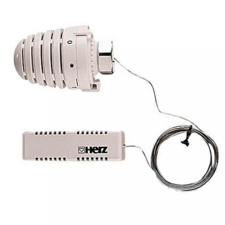 Купить Термостатическая головка HERZ-DESIGN М28х1,5 с выносным датчиком у официального дилера Herz в Украине