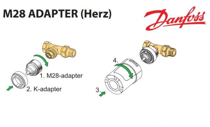 Адаптер Danfoss M28xM30