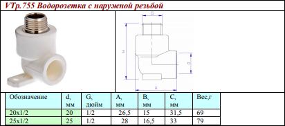 Валтек VTp.755.0.02004
